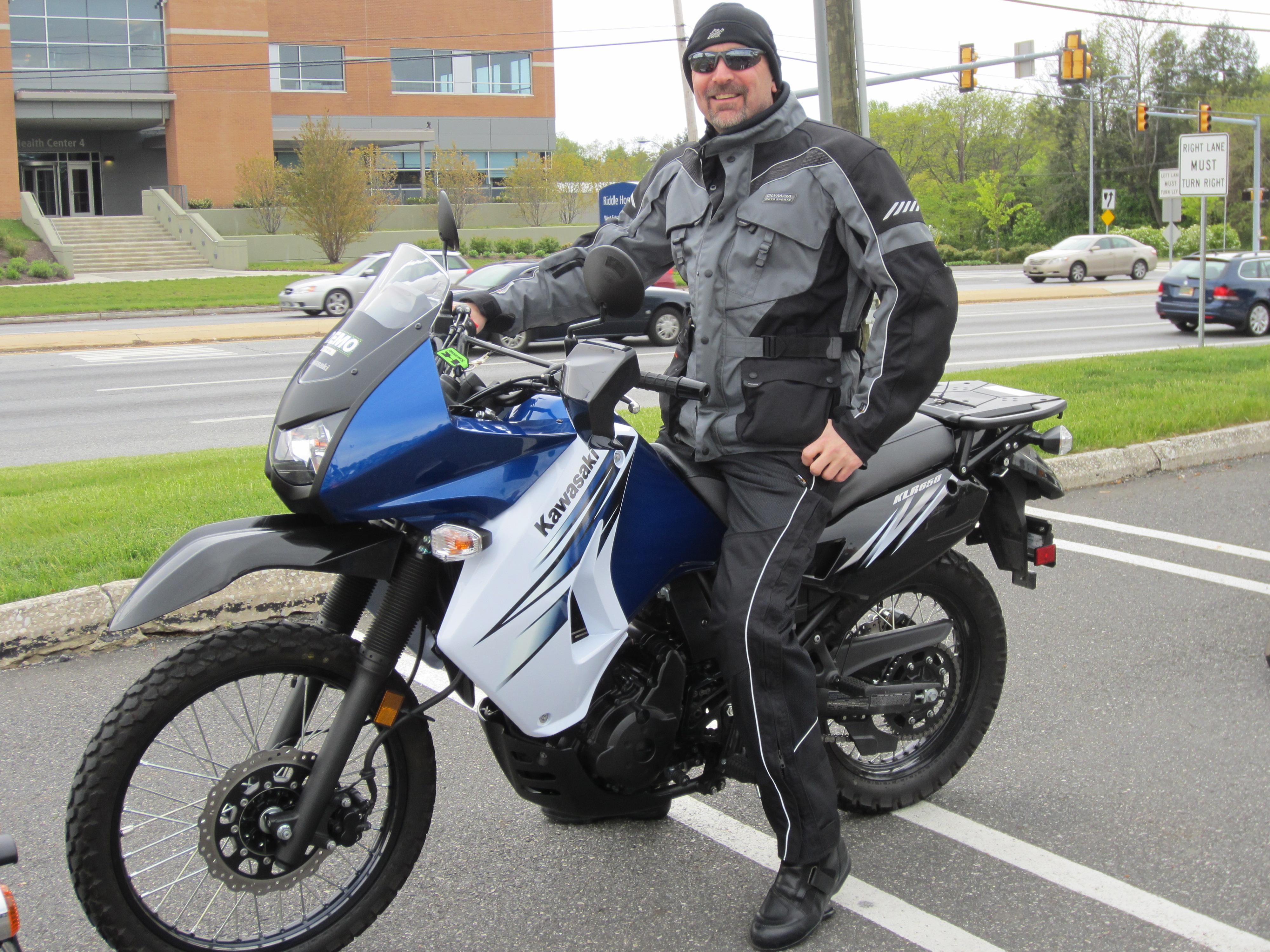Kawasaki Demo Ride