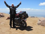 Me on top of Pike's Peak. Shortly after this, I fell flat on my face from disorientation due to the altitude change.