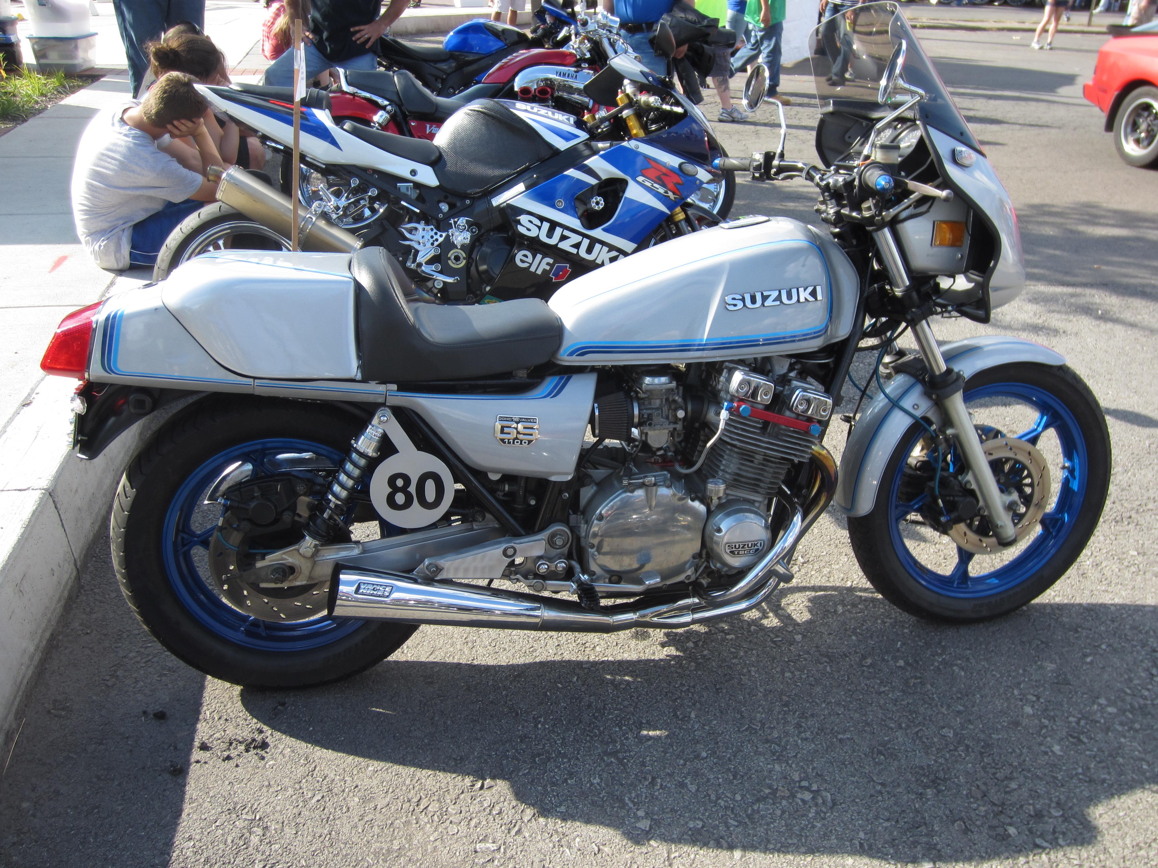 1980 Suzuki GS1100 | No Baffles